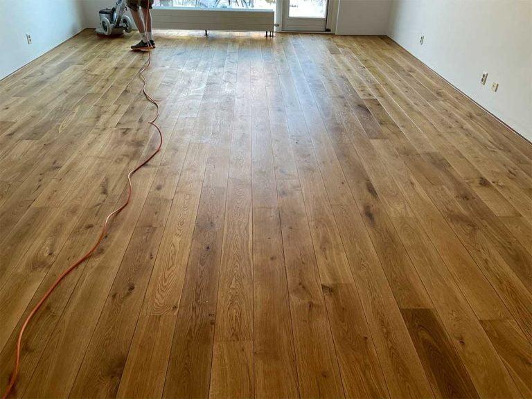 Geoliede parketvloer planken houten vloer