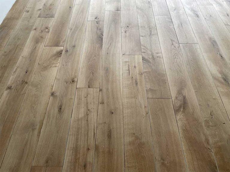 Ecowood lak houten vloer lamel resultaat extra mat